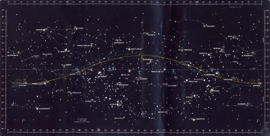 Kevinspurgin Licensed For NonCommercial Use Only  Star Chart
